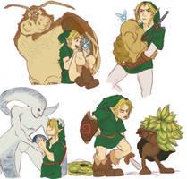 Zelda Dump 2 by Foxtail-89