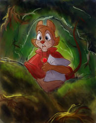 Mrs. Brisby by PixelatedBubbles