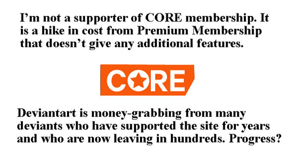 CORE, a major mistake