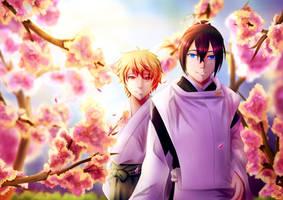 Cherry Blossom - Fanart by xSielu