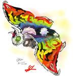 Go G: Rainbow Mothra