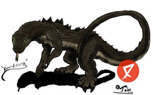 Go G: Komodithrax by Vagrant-Verse