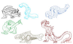 New(ish) Kaiju Concepts