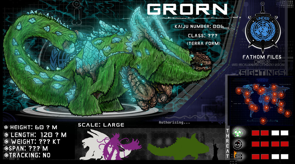 Fathom File 006 0: Grorn (Terra Form) by Vagrant-Verse on