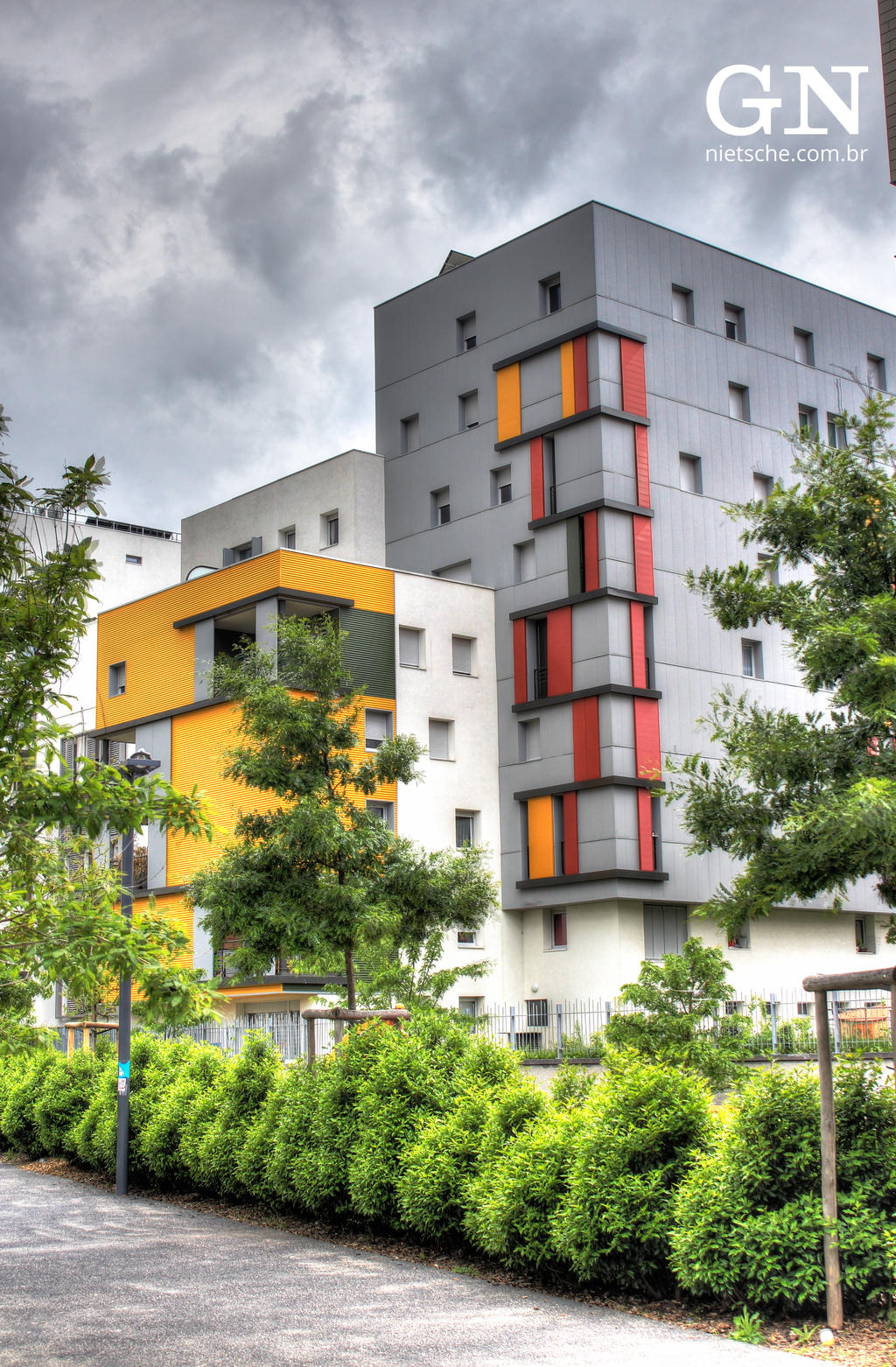 Modern housing 2 by gnietsche on deviantart Contemporary housing