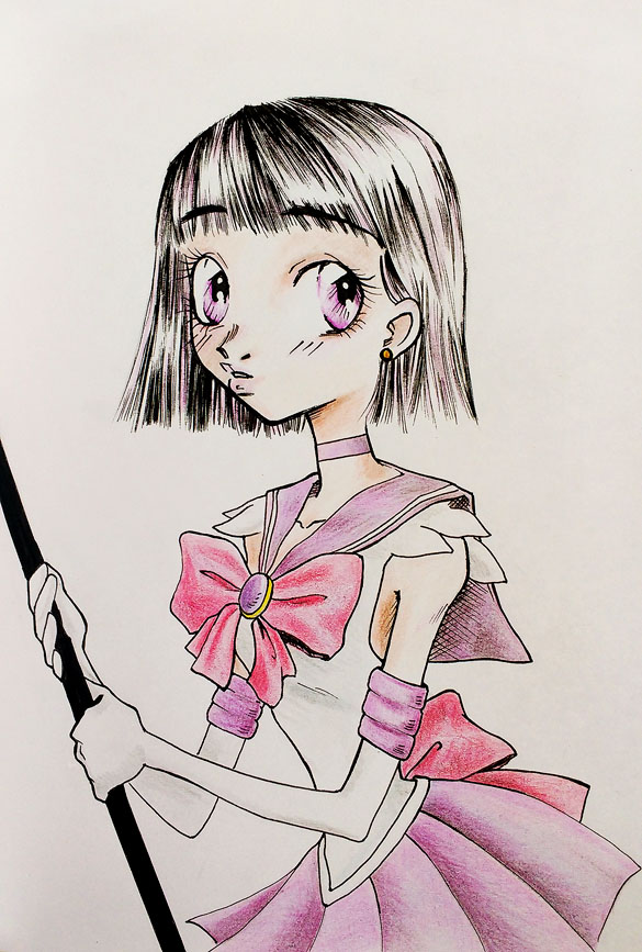 Sailor Saturn by zombie-fever