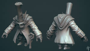 fancy pants sculpt by daphz