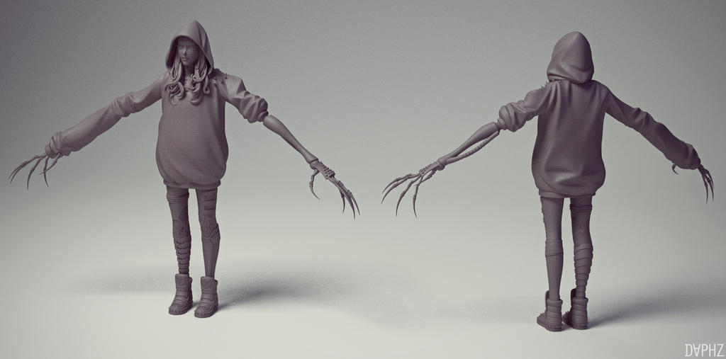 Reaper sculpt by daphz