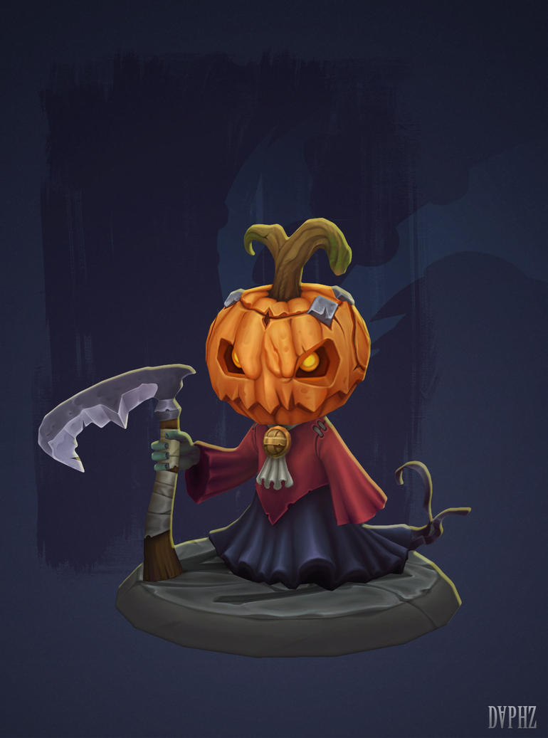 Pumpkin dude by daphz