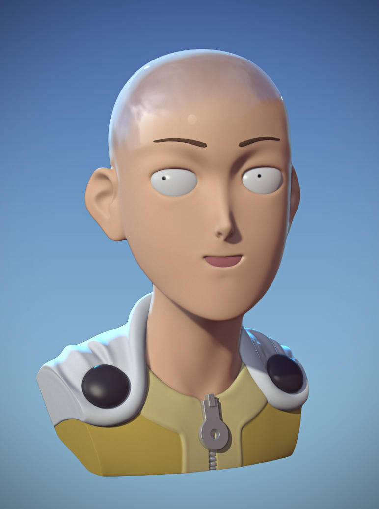 Caped Baldy by daphz