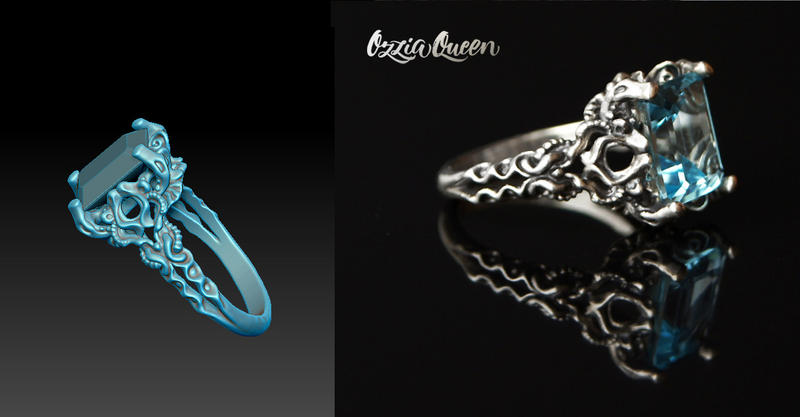 3d Design Ring Zbrush by Ozziaqueen on DeviantArt