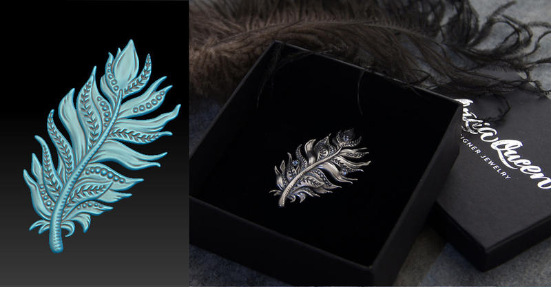 3d Jewelry Design by Ozziaqueen
