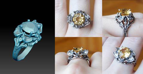 3d Design Ring