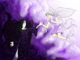 Angel And Demon (Orochimaru Kabuto) by KabutoNosebleed
