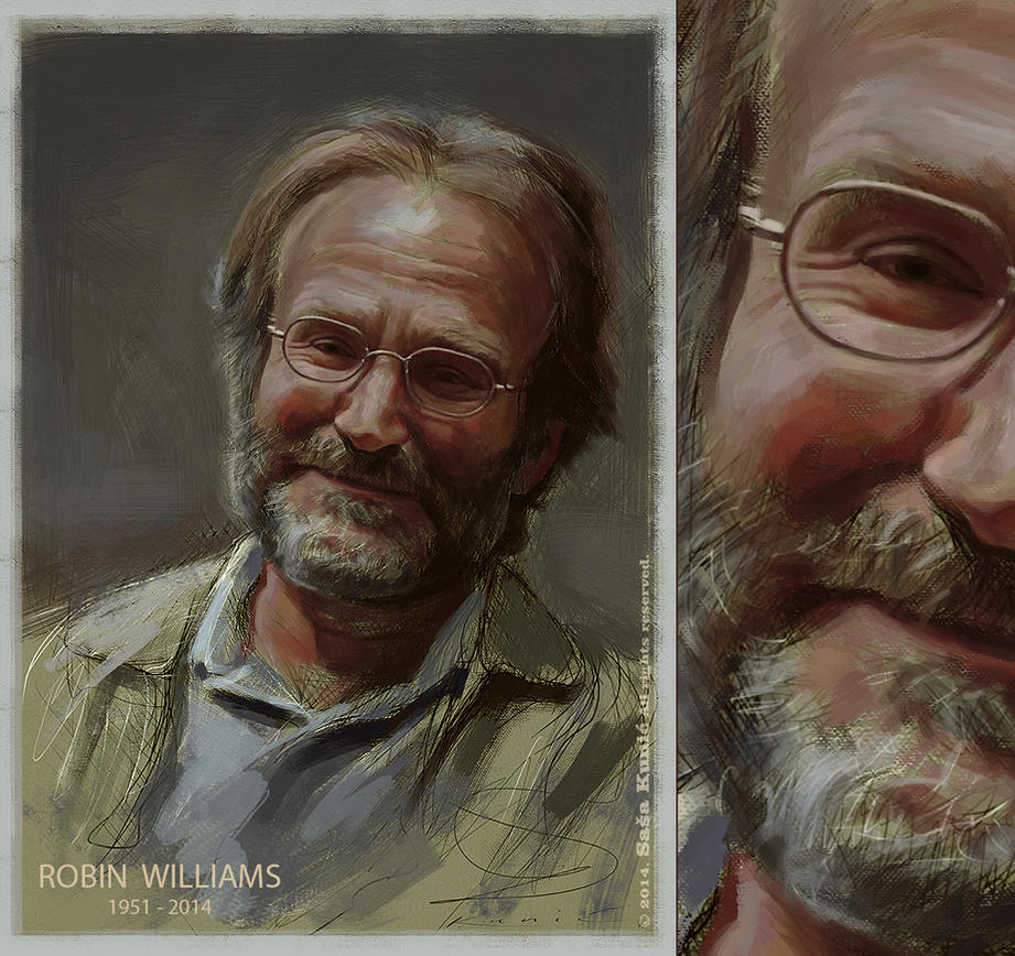 Robin Williams by SigmaK
