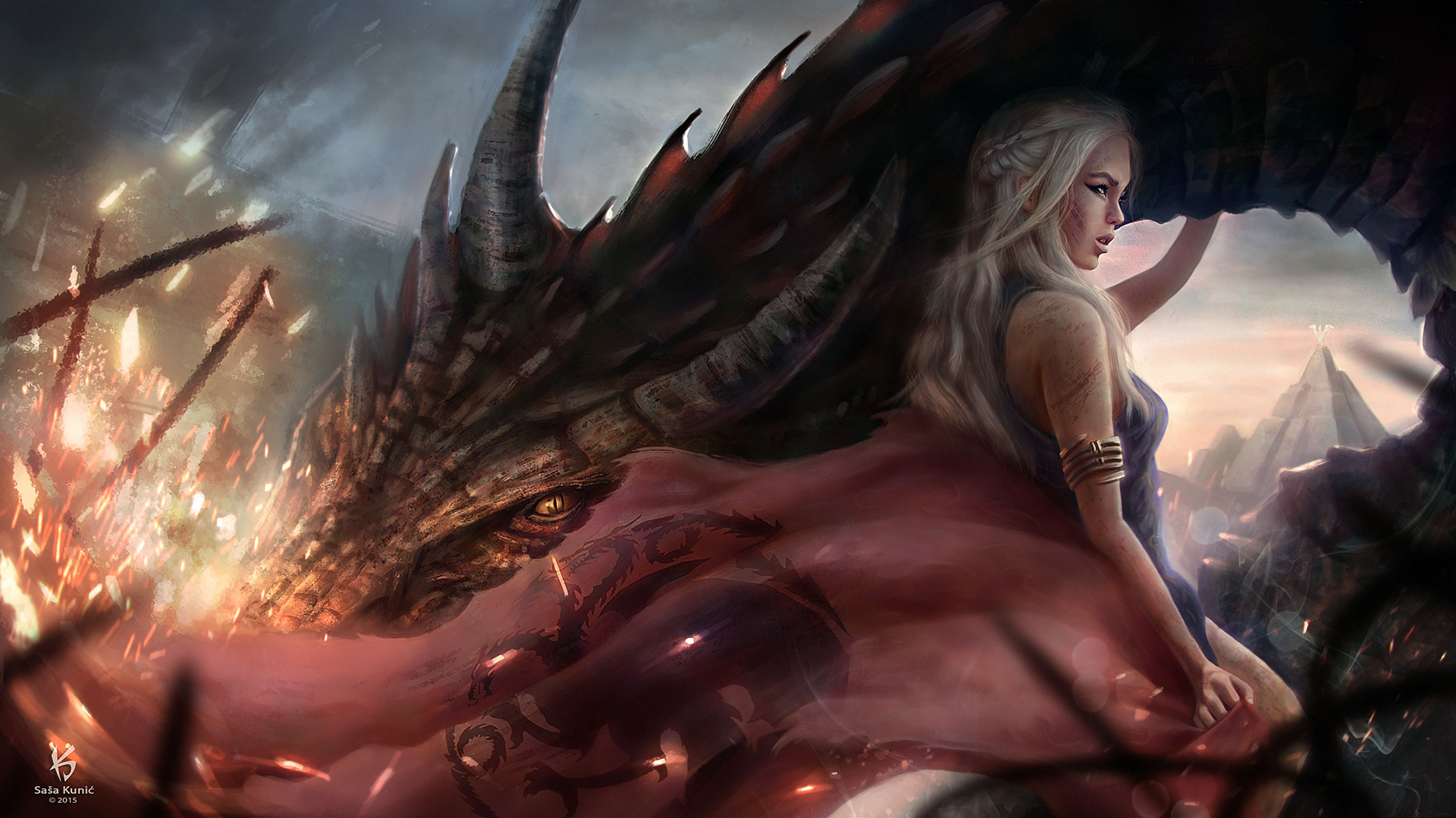 Драконы игра престолов картинки