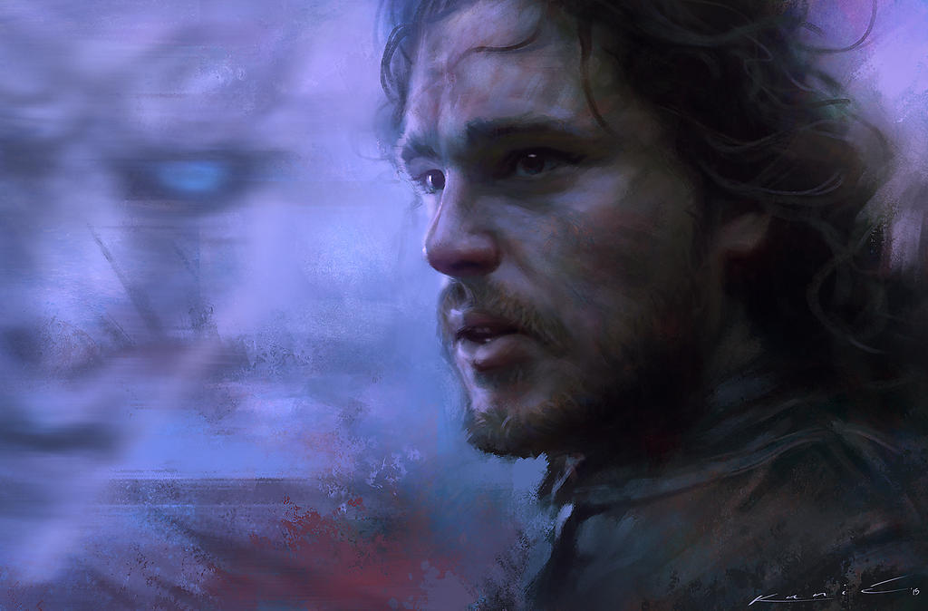 Jon Snow - Game of Thrones by SigmaK