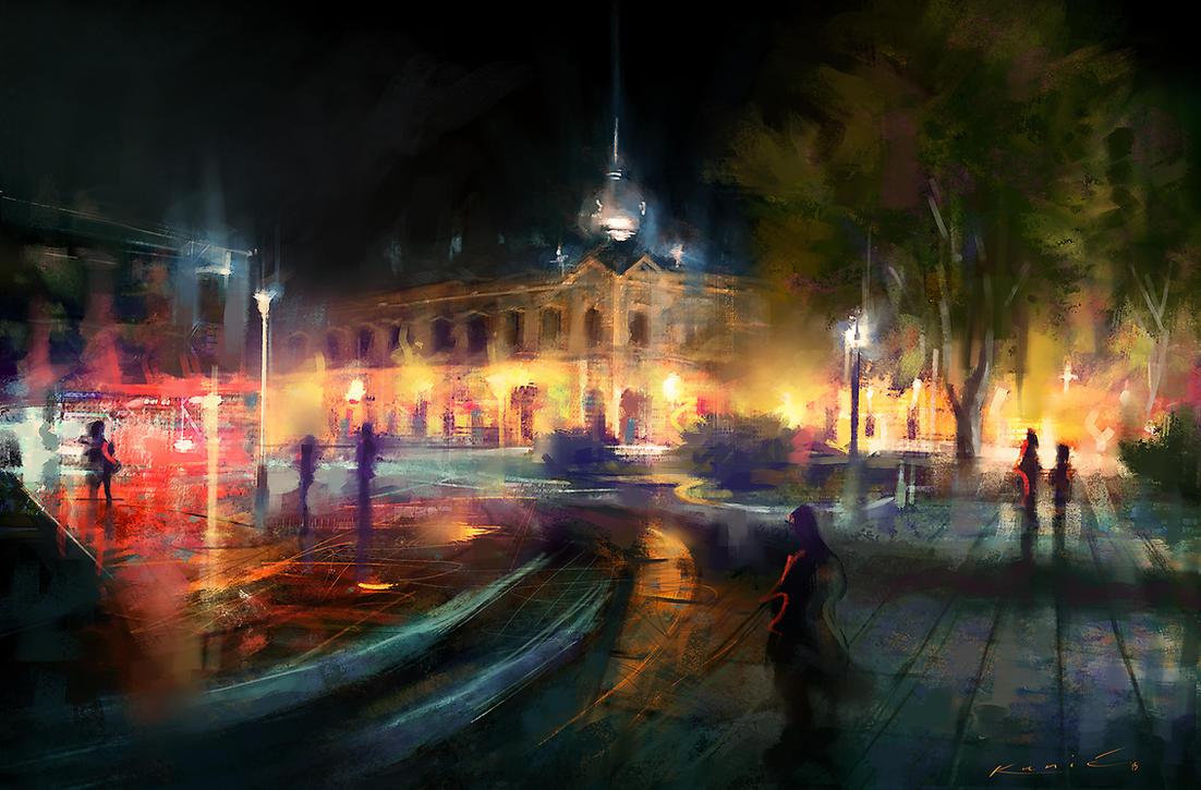 Vukovar Cityscape by SigmaK