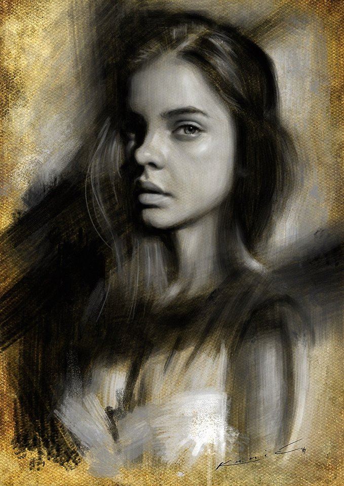 Portrait study by SigmaK
