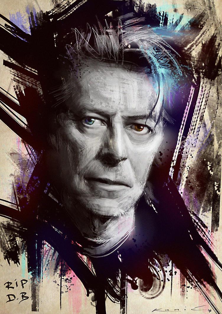 R.I.P. David Bowie... by SigmaK
