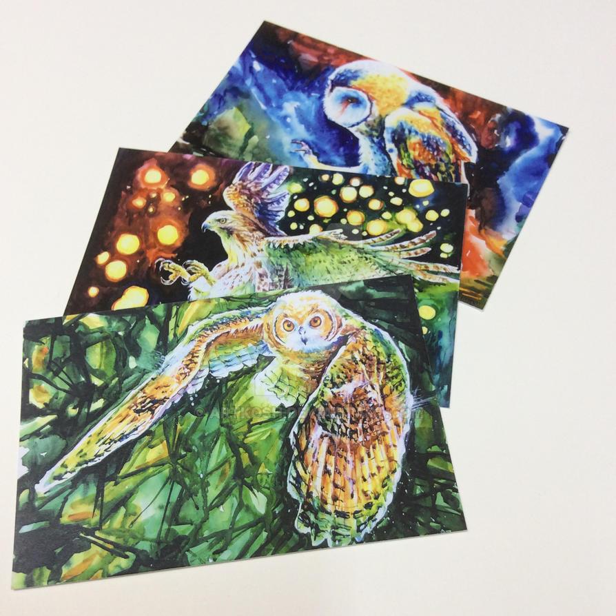 Postcards! by ArtKosh