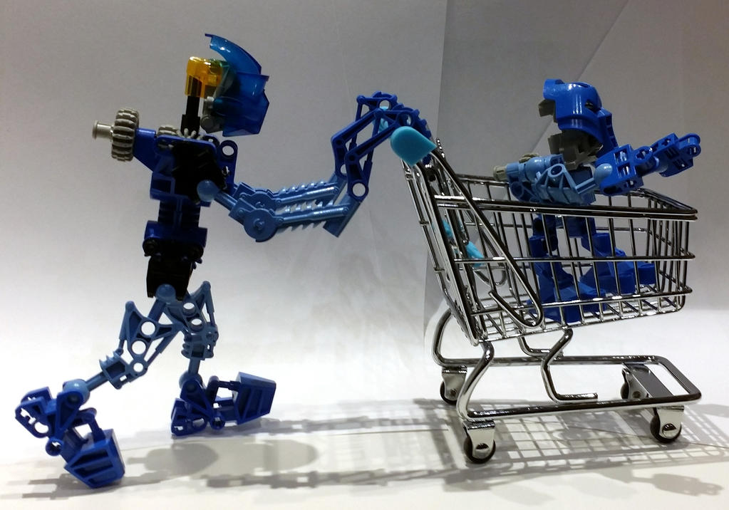 Lego Bionicle Out Shopping By 7a7e On Deviantart