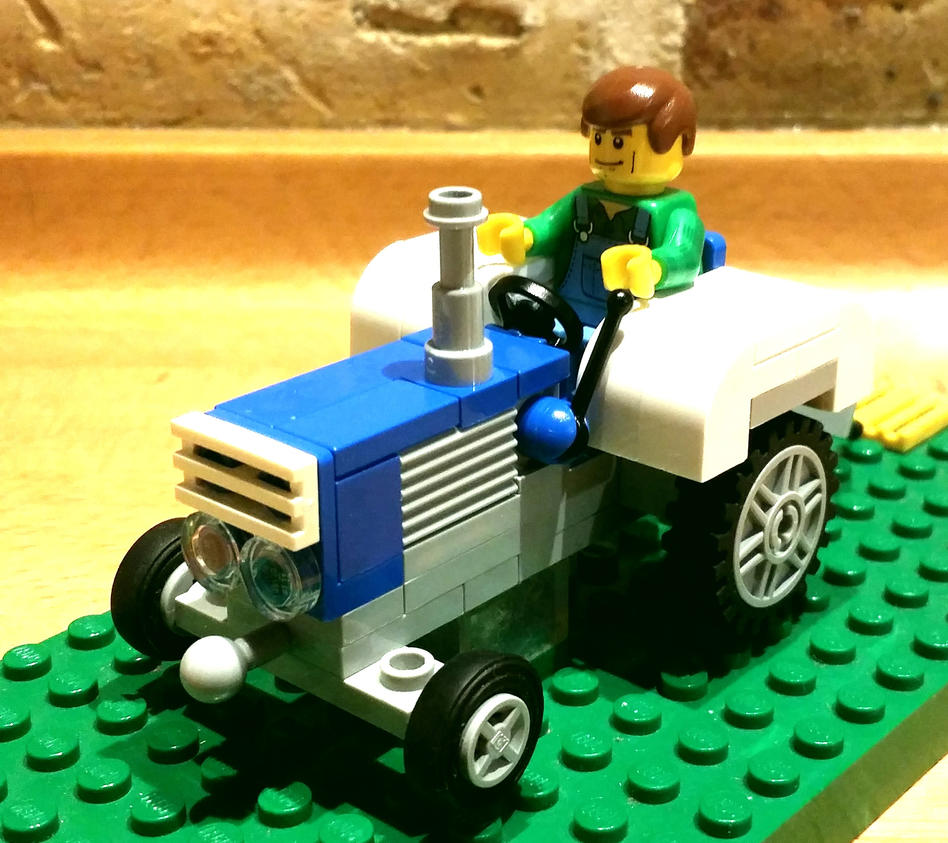 LEGO Ford Tracktor :) by 7A7E