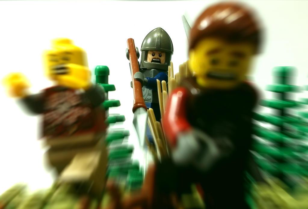 LEGO Surprise attack by 7A7E