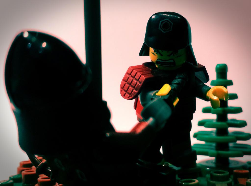 LEGO Samurai kill by 7A7E