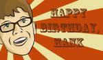 Happy Birthday Hank Green by dead-fishy