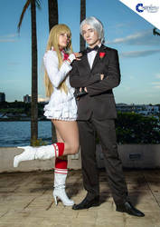 lili rochefort and Lee Chaolan - Tekken by RedCat-Cosplay
