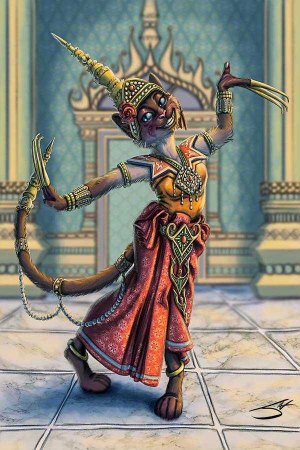 Feline Thai Dancer