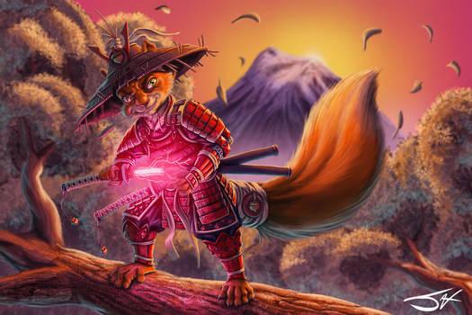 Samurai Squirrel