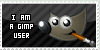 Gimp User Stamp by Darkwizkid