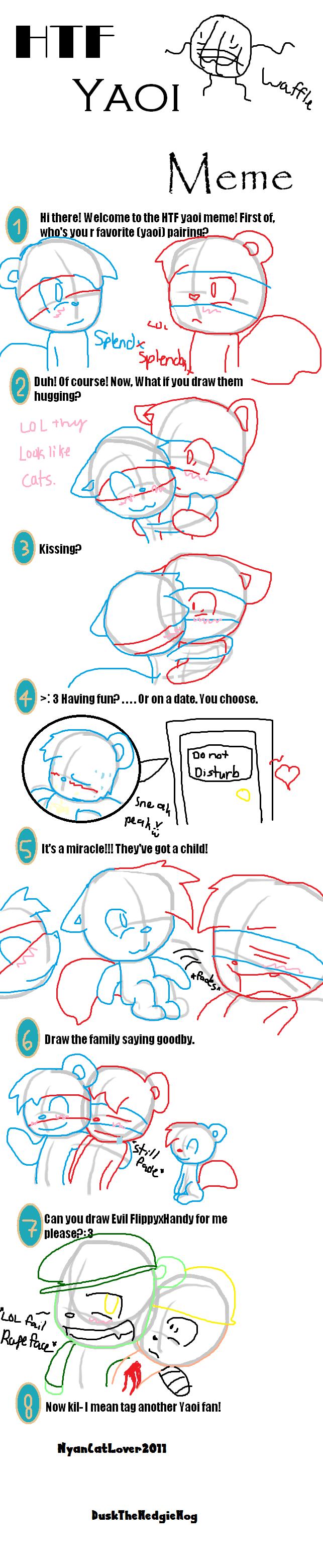 Yes Meme Cat lol HTF yaoi meme by c...