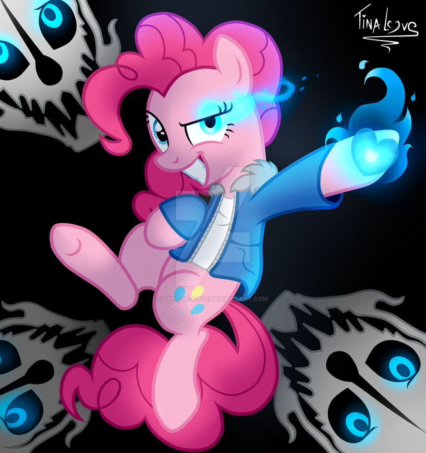 Pinkie - Sans by Tina-de-Love