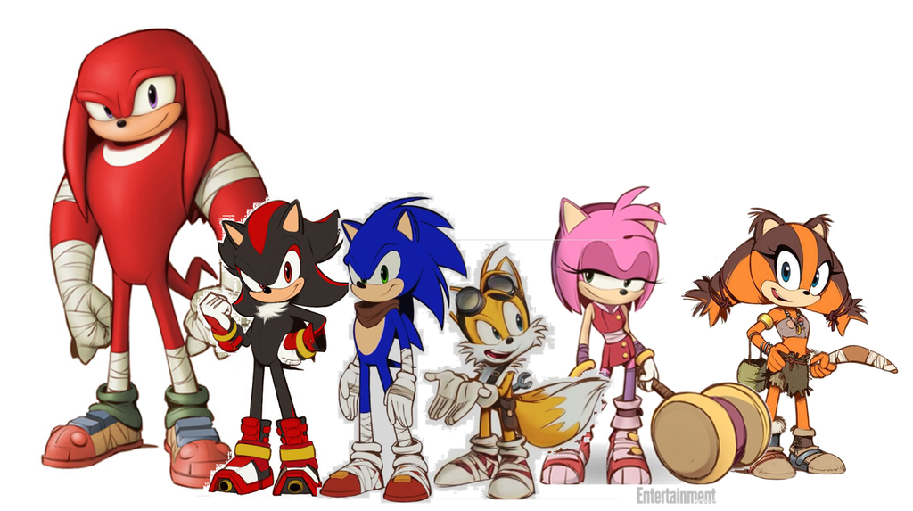 Sonic Boom: Team Sonic By Bandidude On DeviantArt