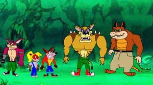 Bandicoots VS Mutants