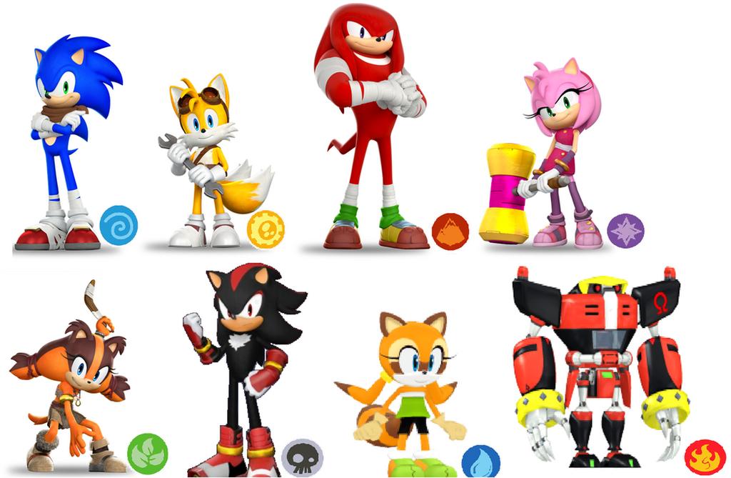 Sonic Characters in Skylanders by Bandidude on DeviantArt