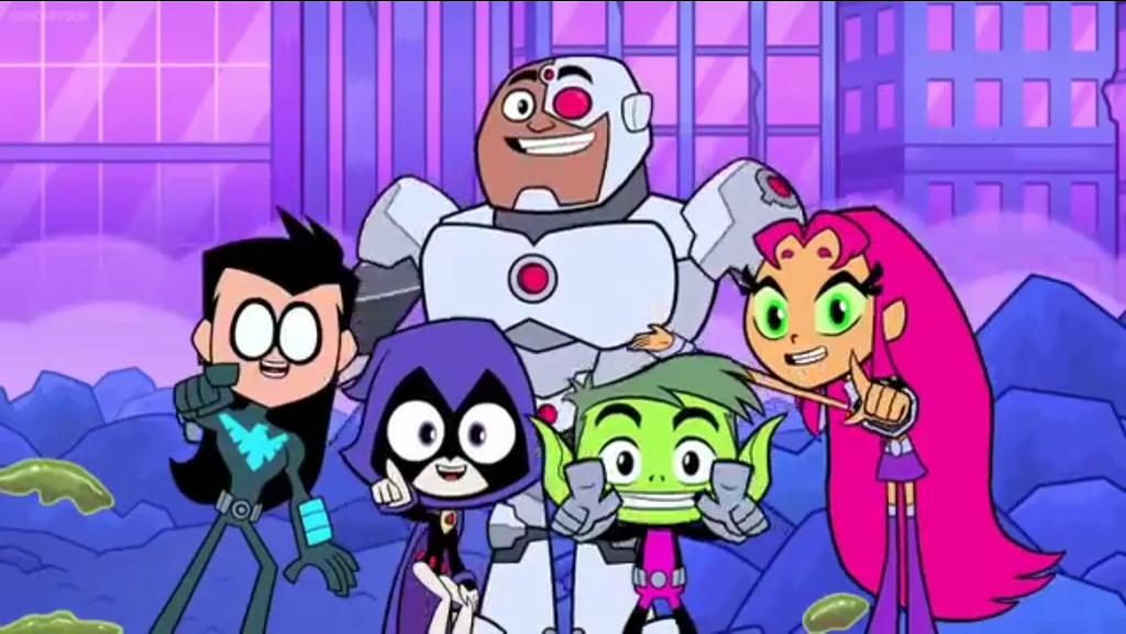 Teen Titans Go Practical Jokes By Bandidude On Deviantart-4736