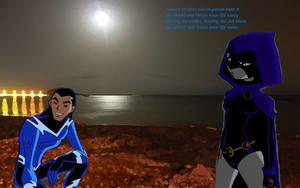 Teen Titans - Aquaven: Sooner Or Later by Bandidude