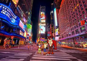 Crash Bandicoot: Hello New York City by Bandidude