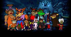 Crash Bandicoot N Sane for Halloween by Bandidude