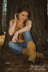It's a Cow Girl Thing #1 by SkyPandaPhotography