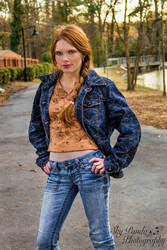 It's a Cow Girl Thing #3 by SkyPandaPhotography