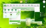 E17-Desktop Green
