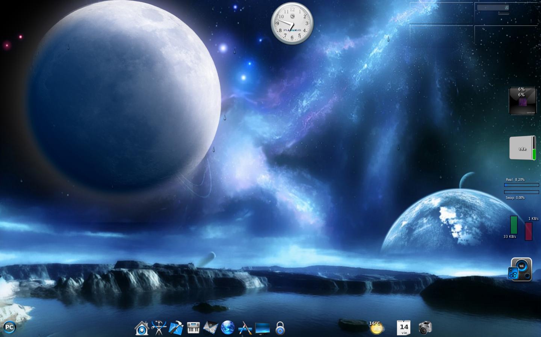 Animated today theme apollo lunar landing