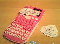 My Barbie calculator for school :DD by LordNative