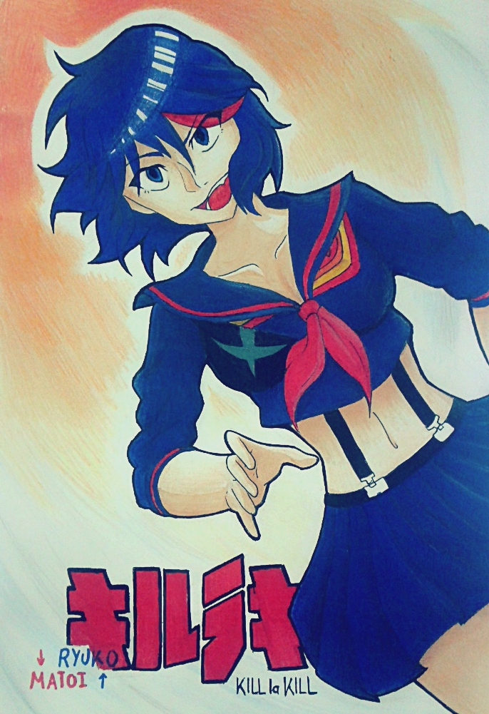 Traditional Ryuko by HeavenRose150