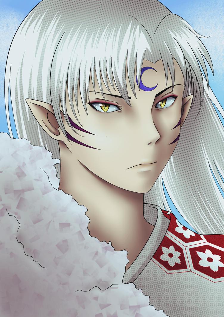 Sesshomaru from Inuyasha by HeavenRose150